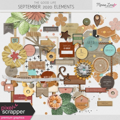 The Good Life: September 2020 Elements Kit
