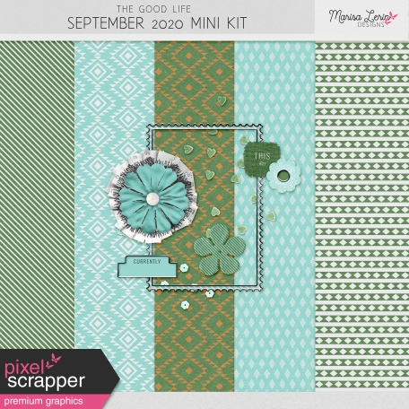 The Good Life: September 2020 Mini Kit
