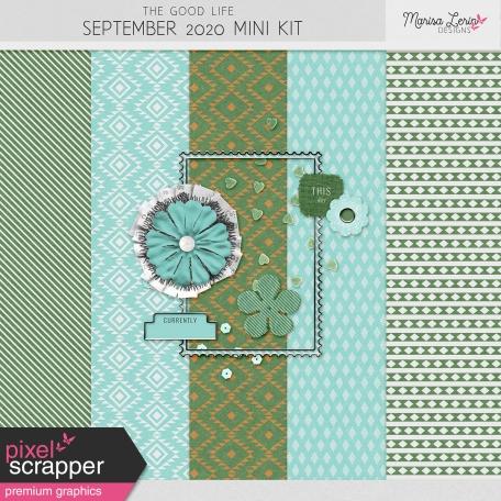 The Good Life: September 2020 Mini Kit