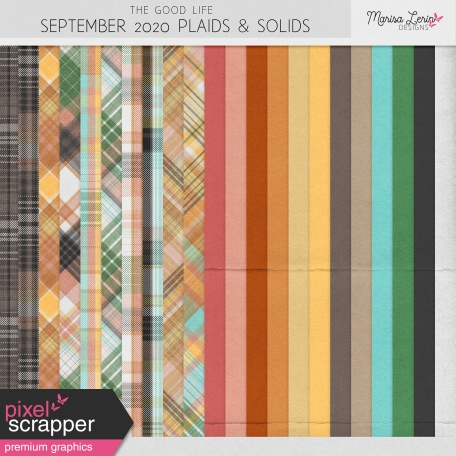 The Good Life: September 2020 Plaids & Solids Kit