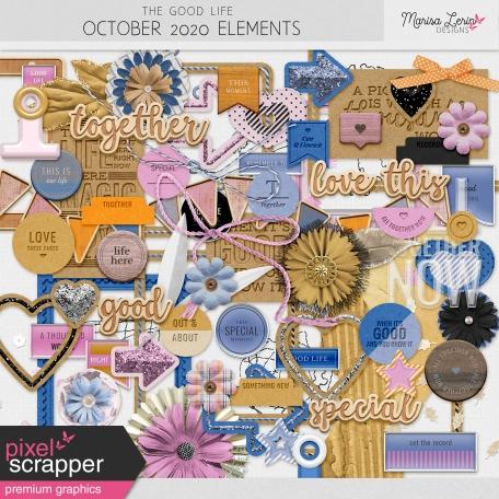 The Good Life: October 2020 Elements Kit