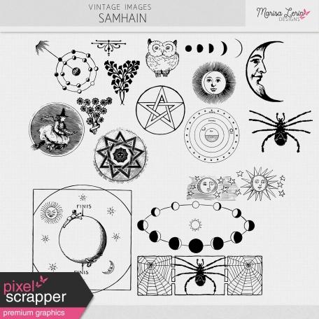 Vintage Images Kit: Samhain