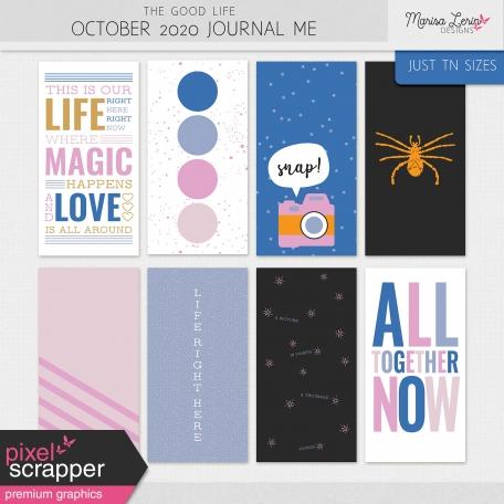 The Good Life: October 2020 Journal Me Kit