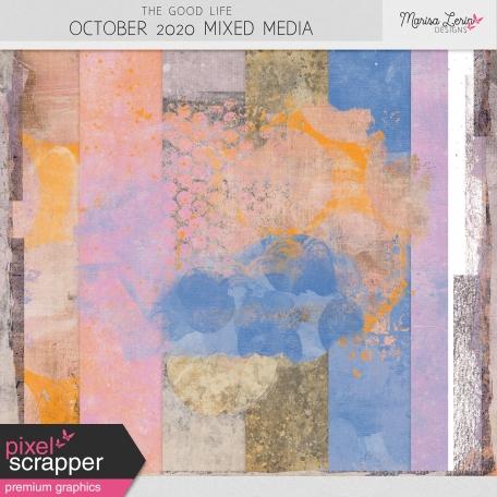 The Good Life: October 2020 Mixed Media Kit