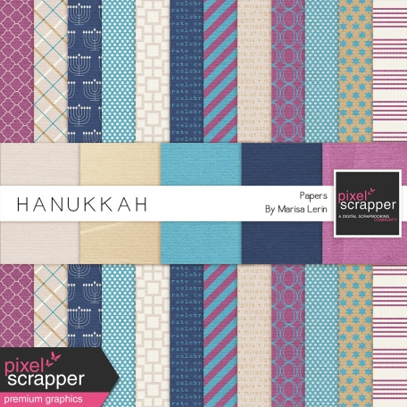 Hanukkah Papers Kit