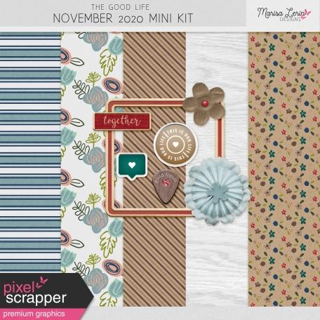 The Good Life: November 2020 Mini Kit