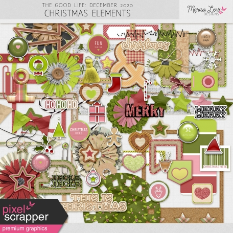 The Good Life: December 2020 Christmas Elements Kit