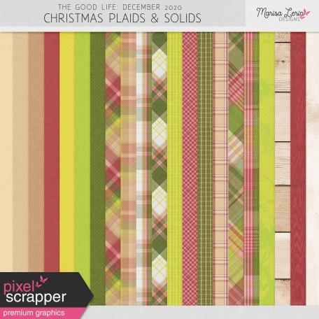 The Good Life: December 2020 Christmas Solids & Plaids Kit