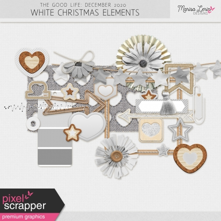 The Good Life: December 2020 White Christmas Elements Kit