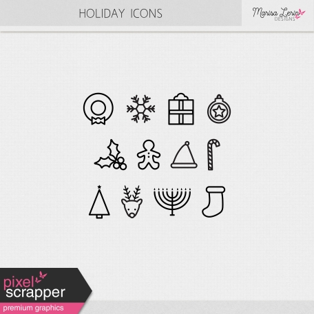 Holiday Icons Kit