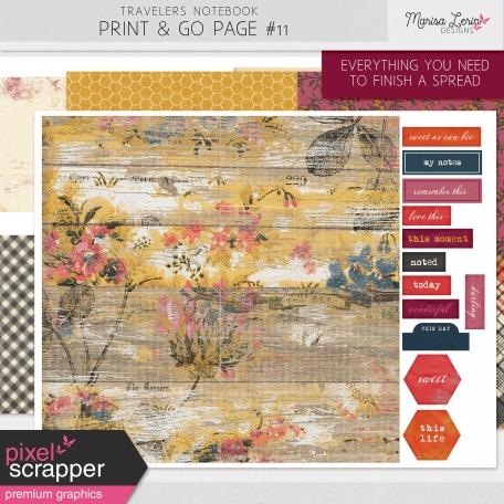 Print & Go Kit #11 - Heard the Buzz