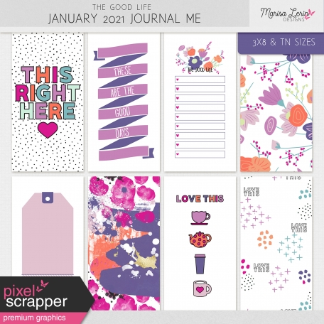 The Good Life: January 2021 Journal Me Kit