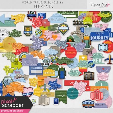 World Traveler #2 Word Elements Kit