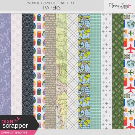 World Traveler #2 Papers Kit