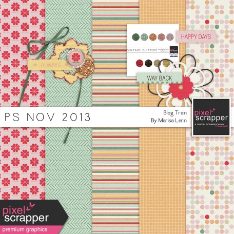 November 2013 Blog Train Mini Kit