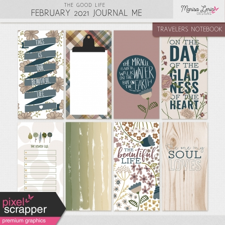 The Good Life: February 2021 Journal Me Kit