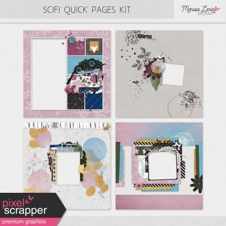 SciFi Quick Pages Kit