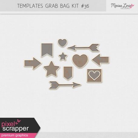 Templates Grab Bag Kit #36