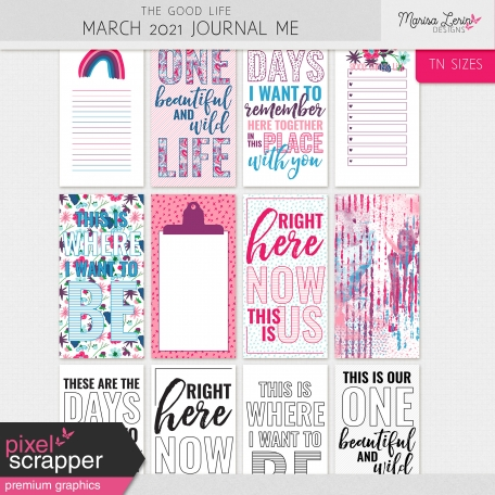 The Good Life: March 2021 Journal Me Kit