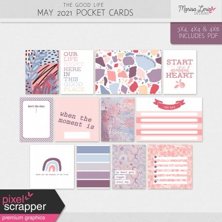 The Good Life: May 2021 Pocket Cards Kit