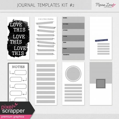 Journal Templates Kit #2