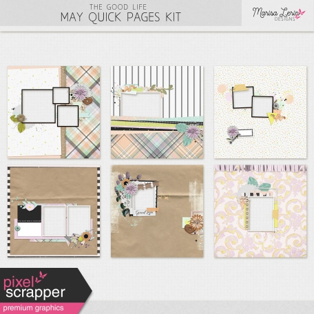 The Good Life: May Quick Pages Kit #2