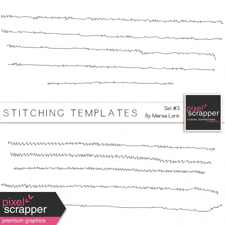 Stitching Templates #3 Kit