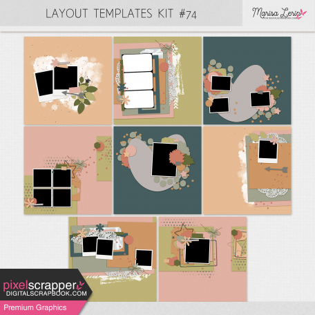 Layout Templates Kit #74