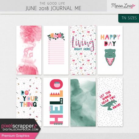 The Good Life: June Journal Me Kit