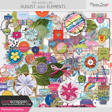 The Good Life: August 2021 Elements Kit