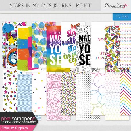 Stars in My Eyes Journal Me Kit