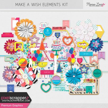 Make A Wish Elements Kit