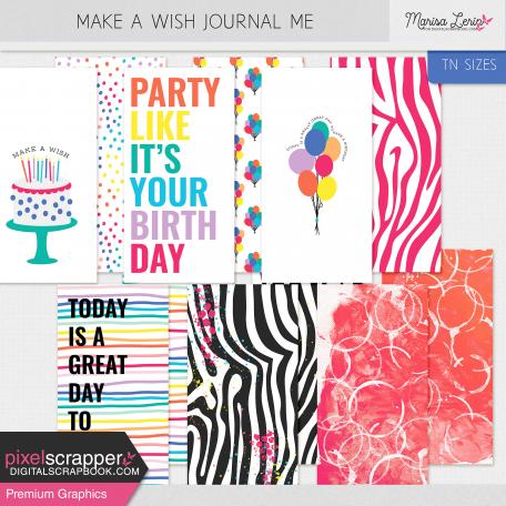Make A Wish Journal Me Kit