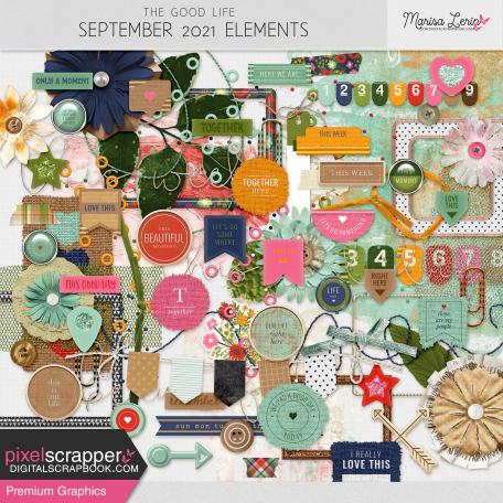 The Good Life: September 2021 Elements Kit