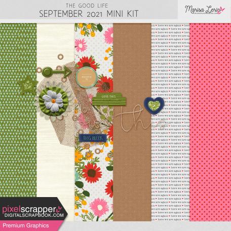 The Good Life: September 2021 Mini Kit