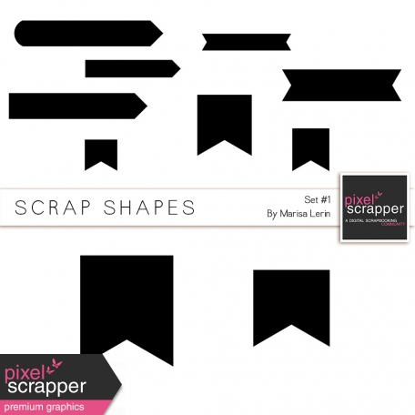 Scrap Shapes Kit #1