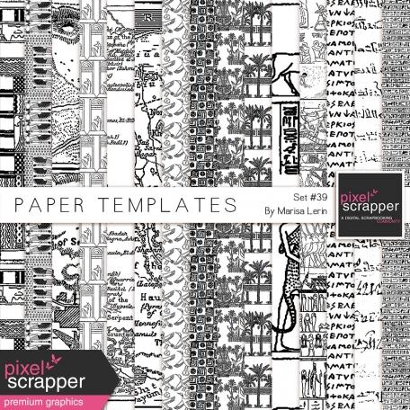 Paper Templates Kit #39