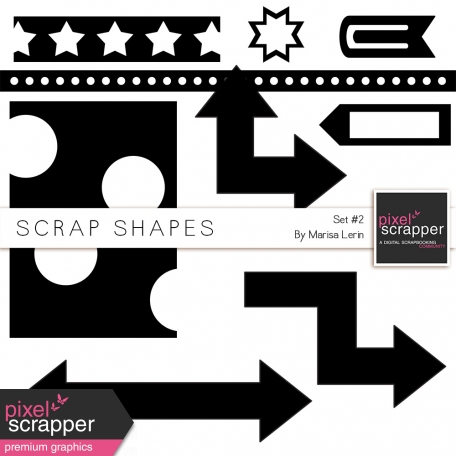 Scrap Shapes Kit #2