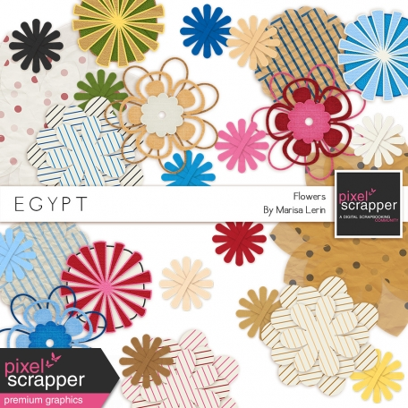 Egypt Flowers Kit