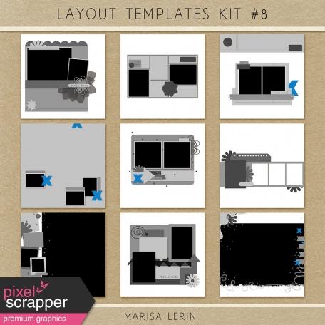 Layout Templates Kit #8