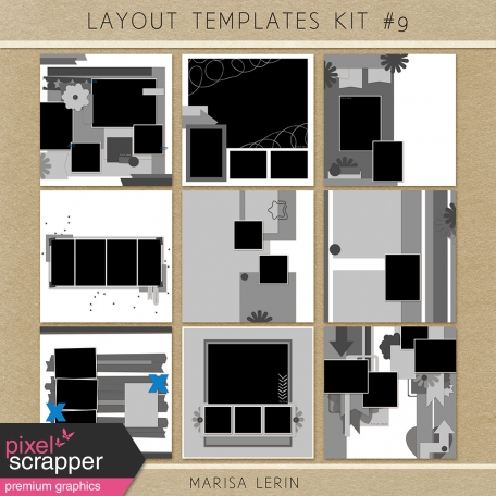 Layout Templates Kit #9