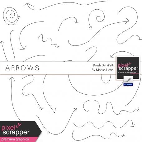 Brush Kit #24 - Arrows