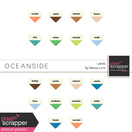 Oceanside Labels Kit