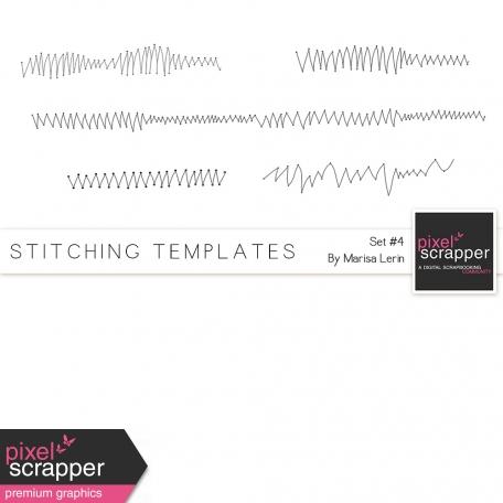 Stitching Templates Kit #4