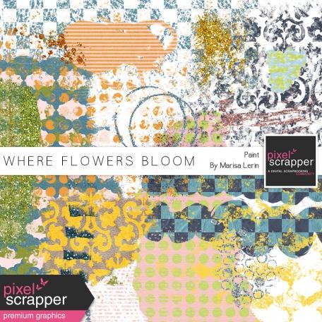 Where Flowers Bloom Paint Kit