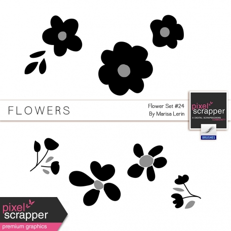 Flower Templates Kit #24