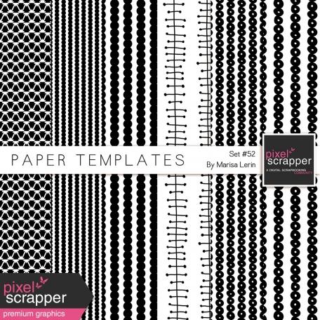 Paper Templates Kit #52