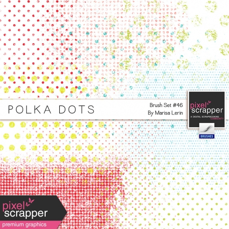 Brush Kit #46 - Polka Dot Grunge