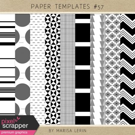 Paper Templates Kit #57