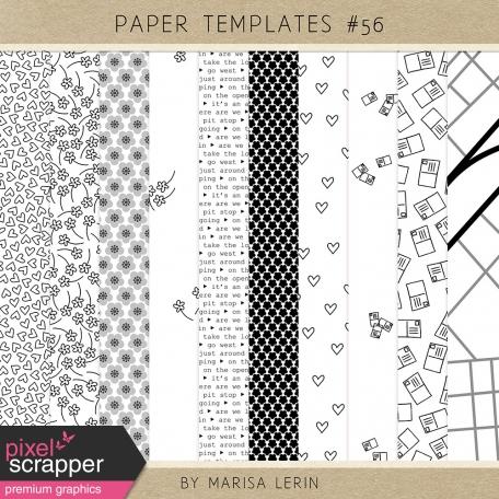 Paper Templates Kit #56